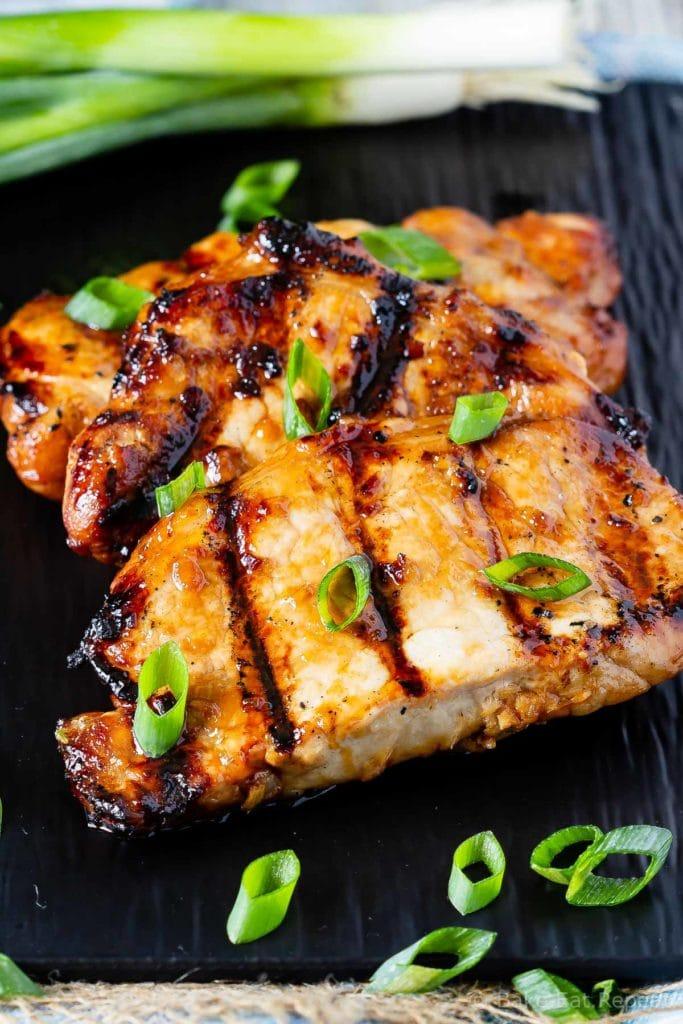 pork chop teriyaki marinade recipe Teriyaki Pork Chop Marinade - Bake. Eat. Repeat.