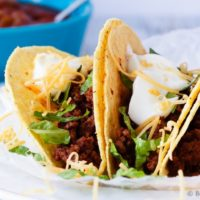 20 Minute Ground Beef Tacos