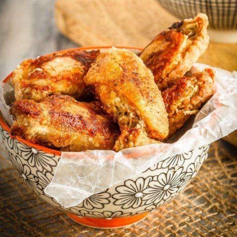 Crispy Oven Baked Wings