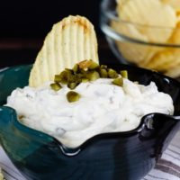 Gherkin and Caramelized Onion Dip
