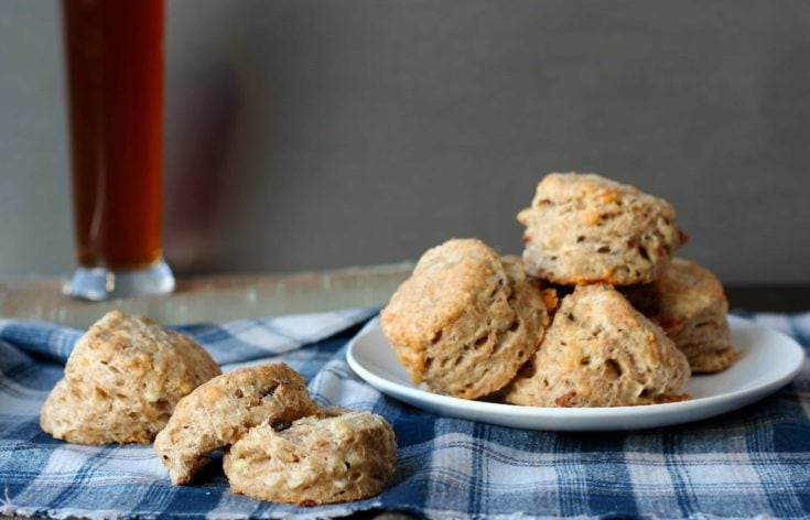 Cheddar Bacon Beer Biscuits