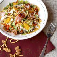 Asian Chopped Salad with Shrimp