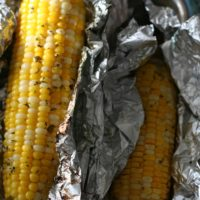 Grilled Cilantro Corn