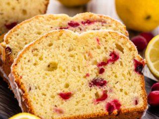 Easy Lemon Cranberry Bread