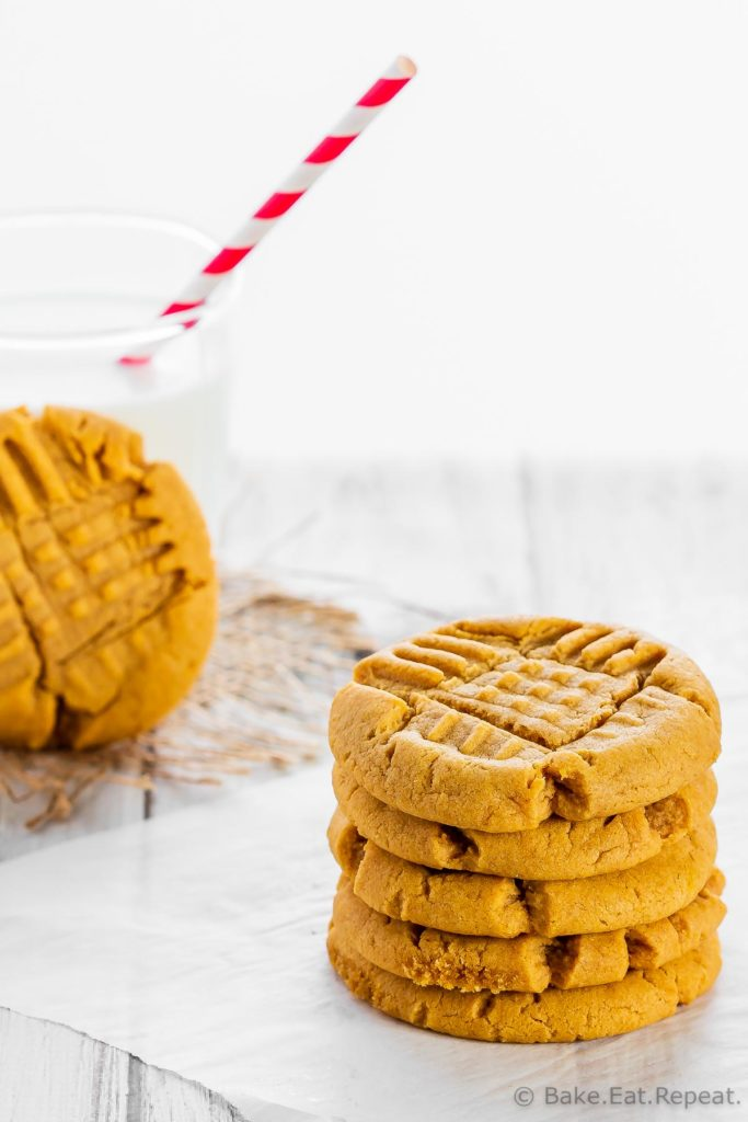 Soft Pumpkin Peanut Butter Cookies