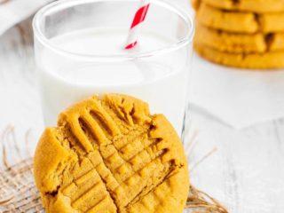 Chewy Pumpkin Peanut Butter Cookies