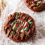 Hot Chocolate Brownies