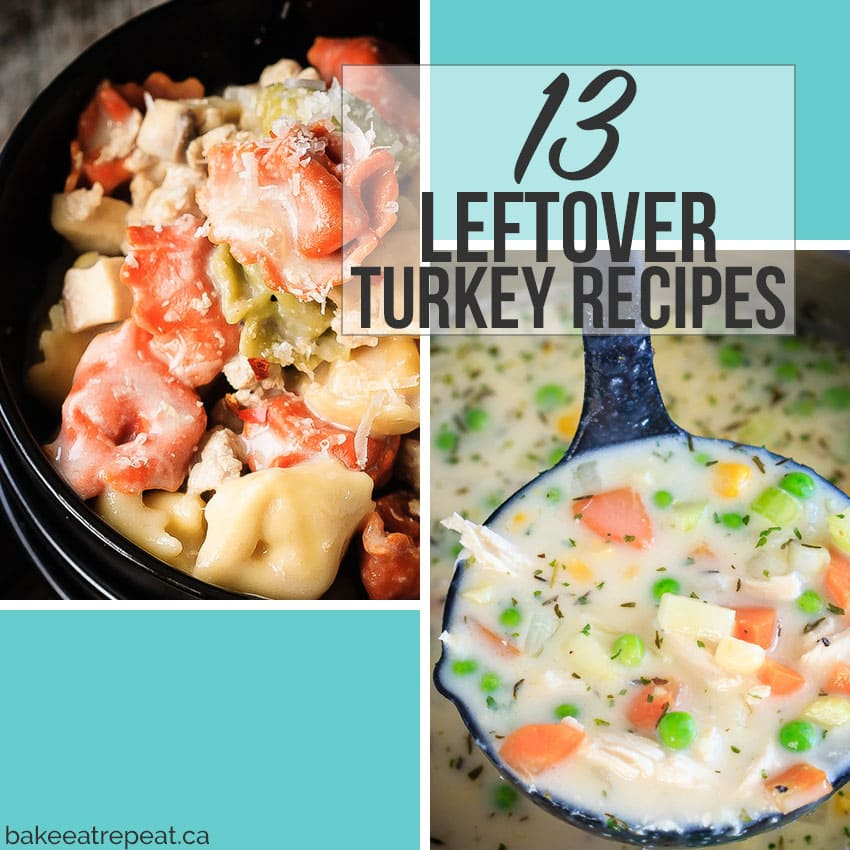 13 Recipes for leftover turkey