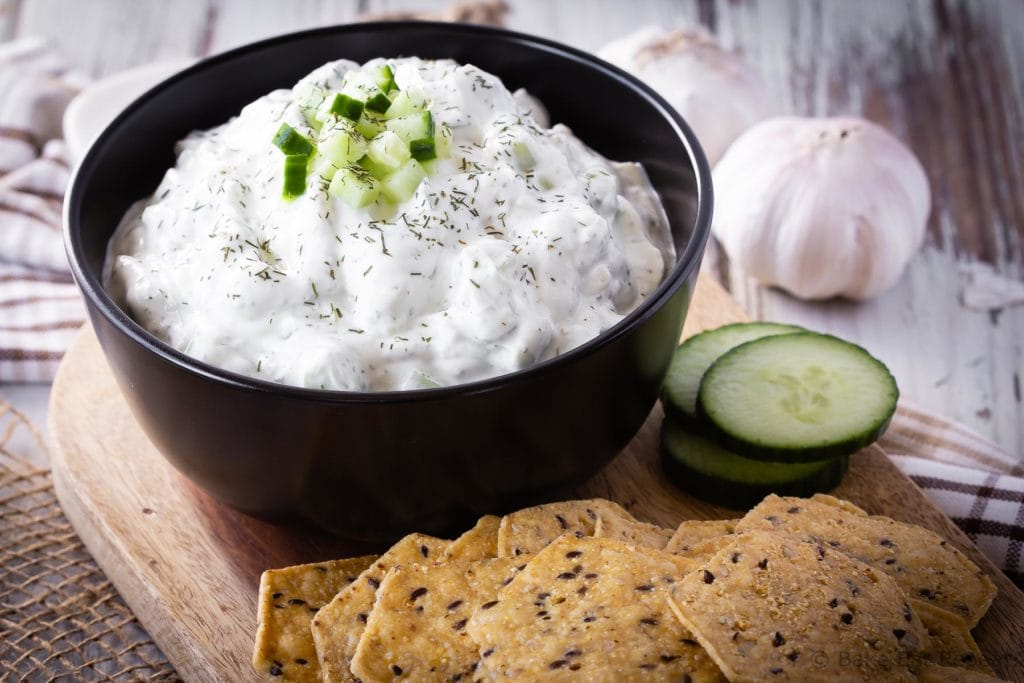Tzatziki Sauce Recipe Easy Homemade Tzatziki Recipe