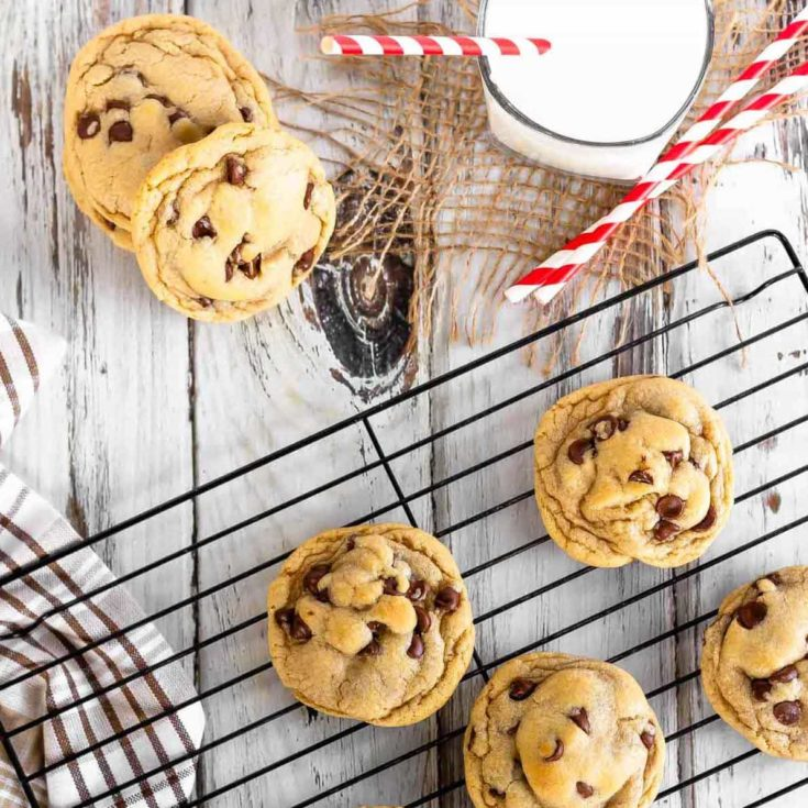 Easy, chewy chocolate chip cookies