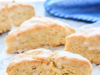 Perfect vanilla scones