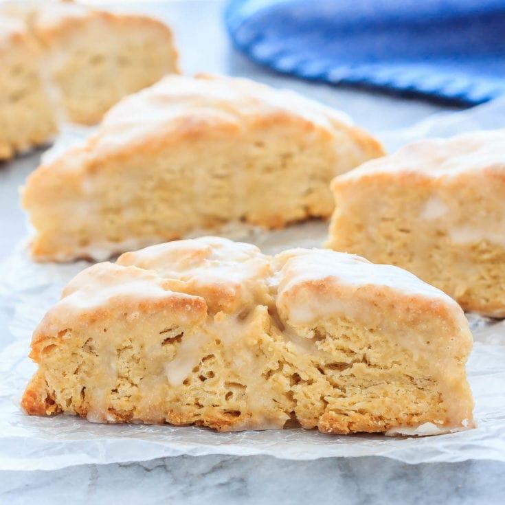 Easy vanilla scones