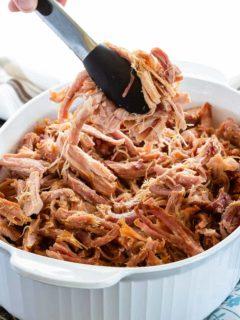 Easy brown sugar baked ham