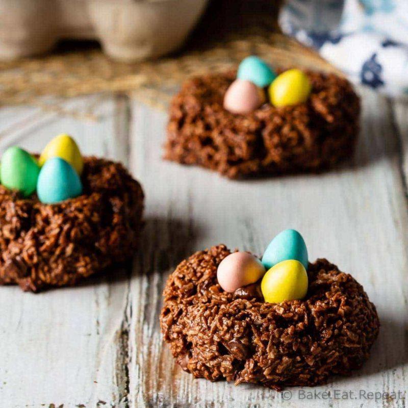 Birds Nest Chocolate Mararoons