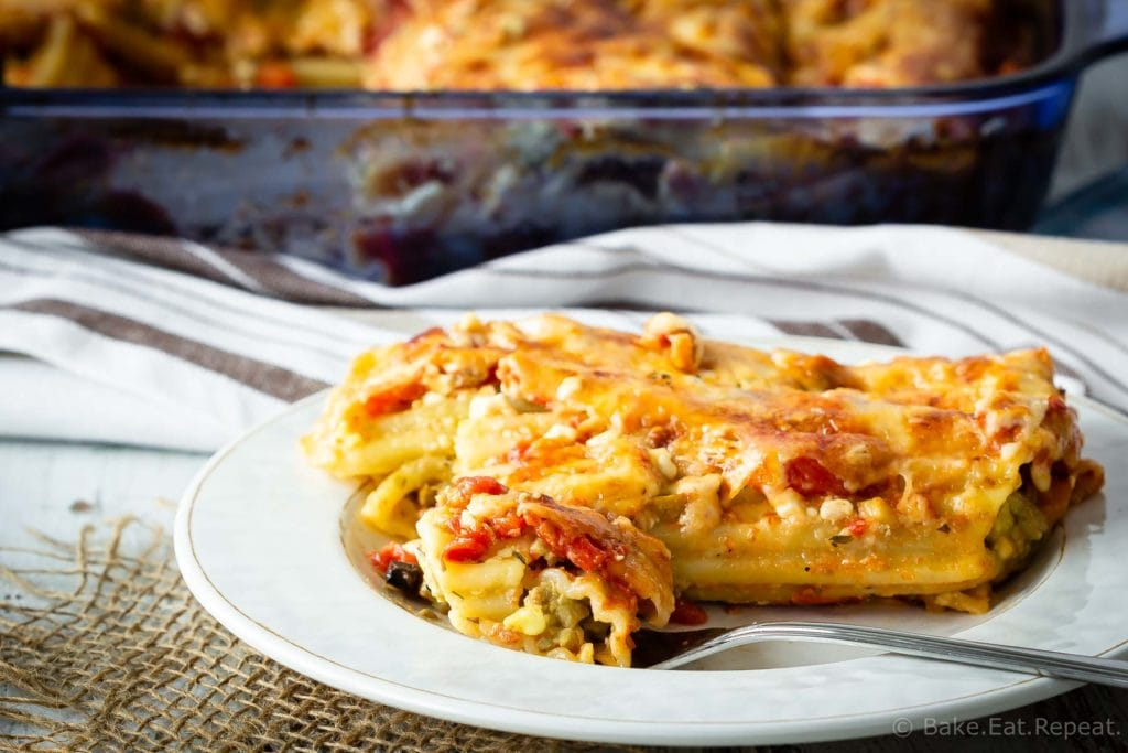 Easy Turkey Manicotti
