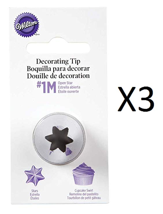 Wilton 1M Open Star Decorating Tip