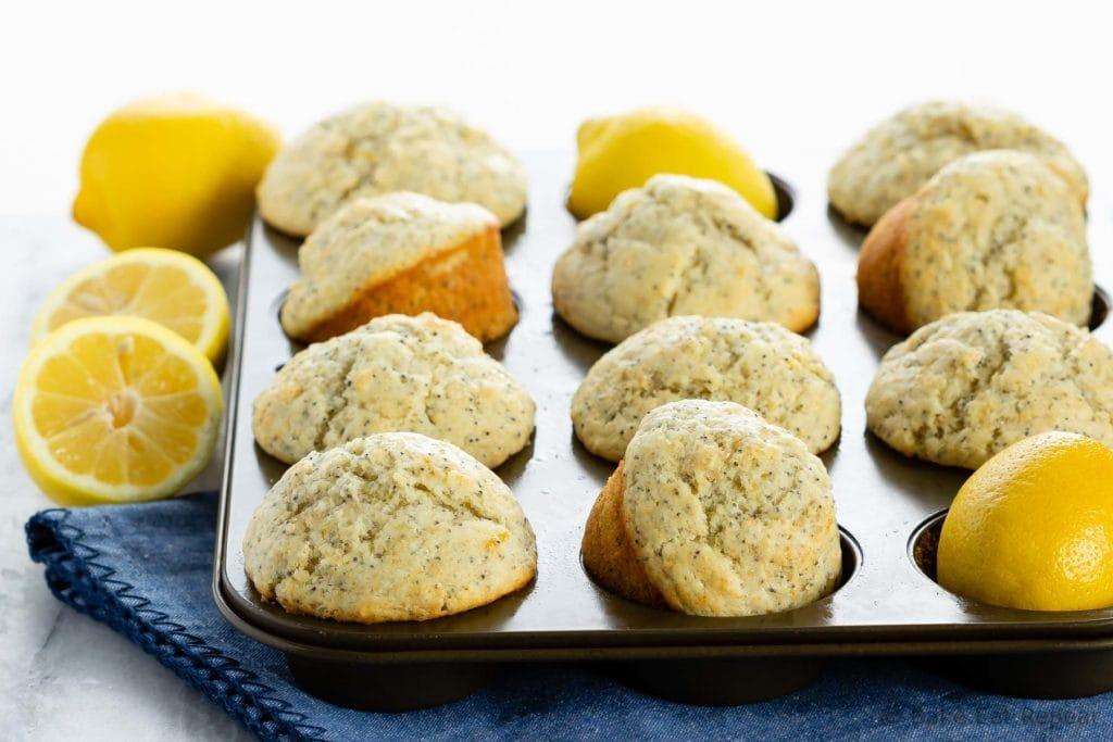 Easy lemon muffins