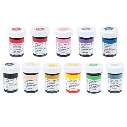 Wilton 12 Icing Color Set