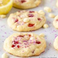 Raspberry Lemonade Cookies {Subway Copycat}
