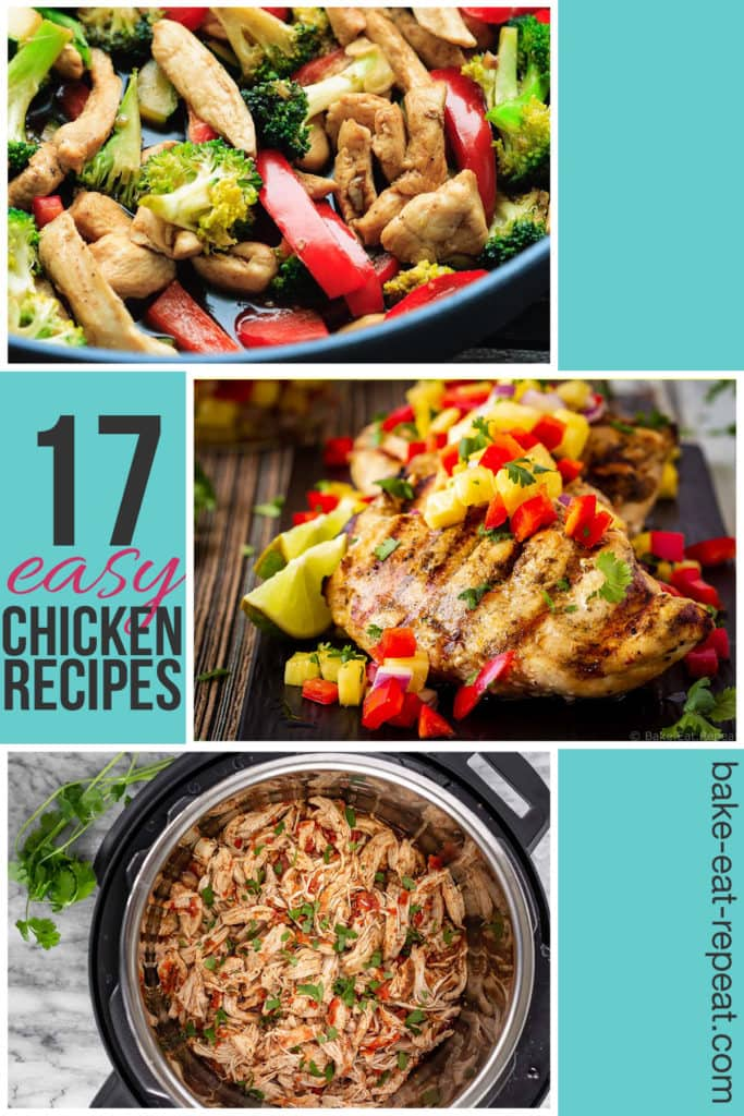 17 Easy chicken recipes