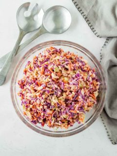 Easy homemade coleslaw dressing