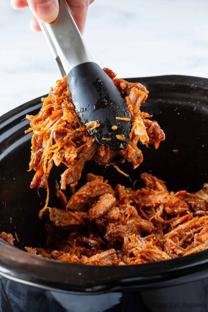 Easy to make, slow cooker pulled pork