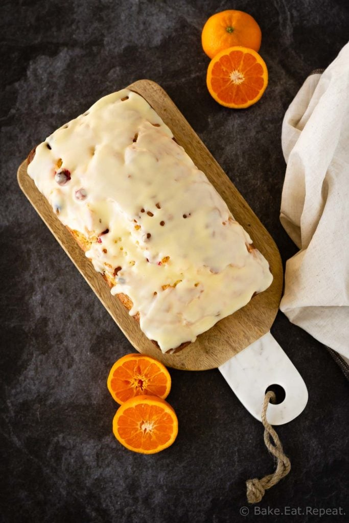Easy orange cranberry bread