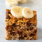 Chocolate Chip Banana Oatmeal Bars