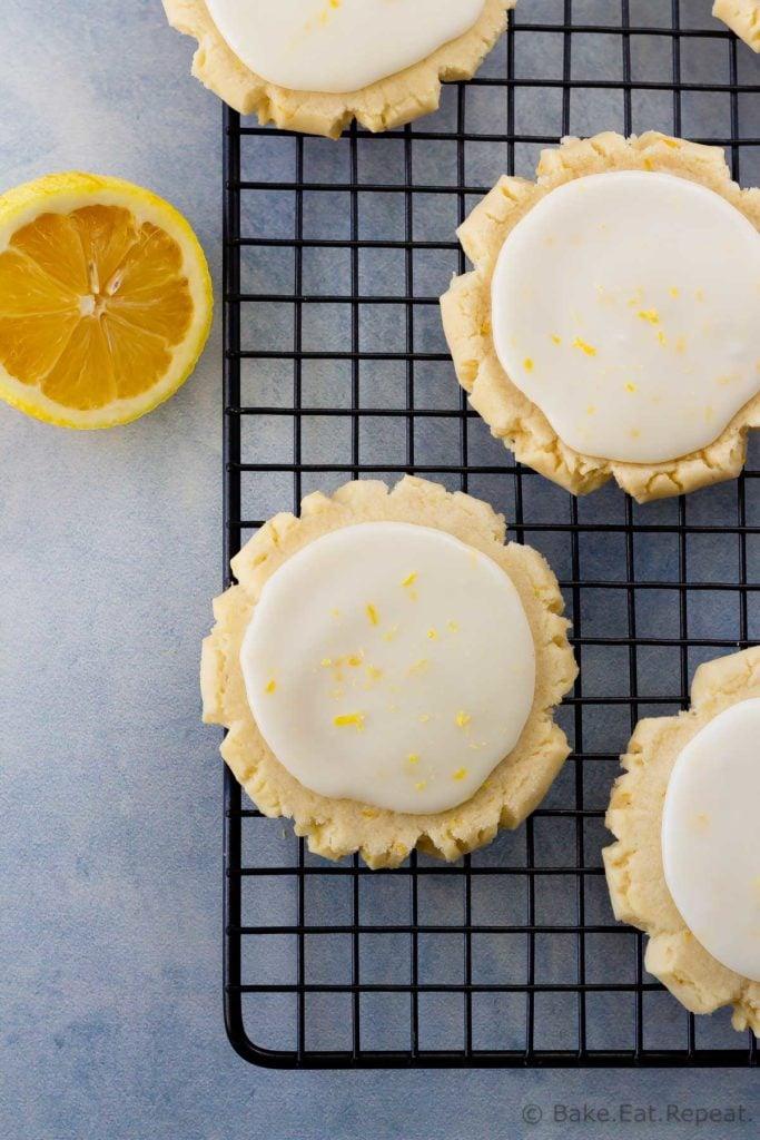 Easy to make lemon sugar cookies