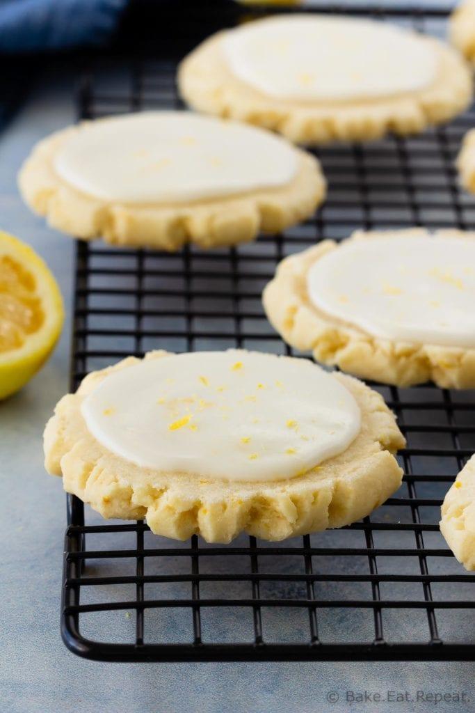 Lemon swig sugar cookies