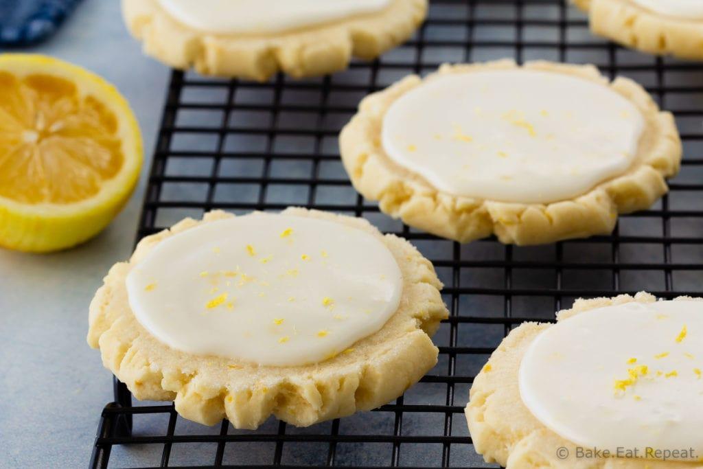 Easy Swig style lemon sugar cookies