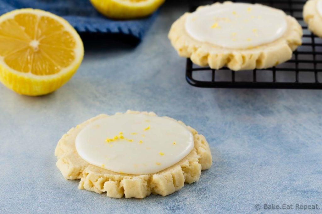 Swig style lemon sugar cookies