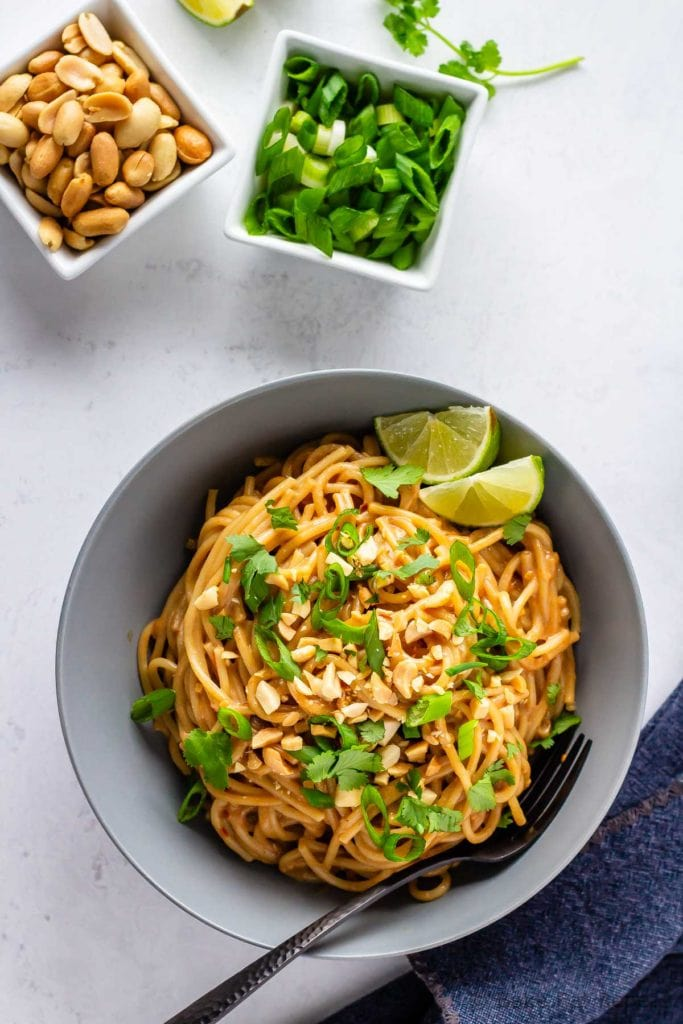 Easy peanut sauce for noodles