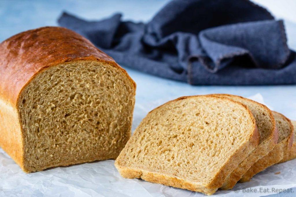 Homemade whole wheat bread recipe