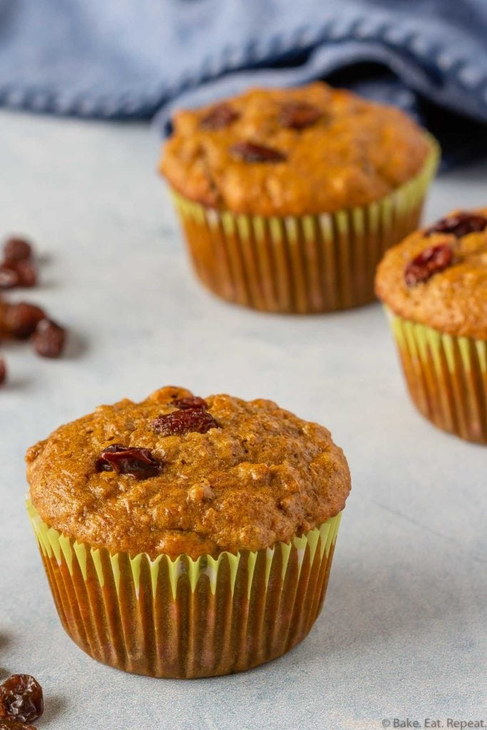 Easy to make bran muffins