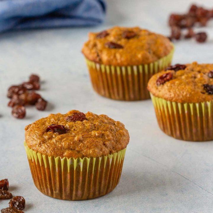 Make ahead refrigerator bran muffins
