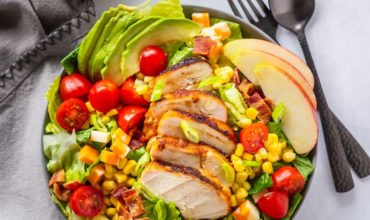 Chopped Salad with Grilled Chicken