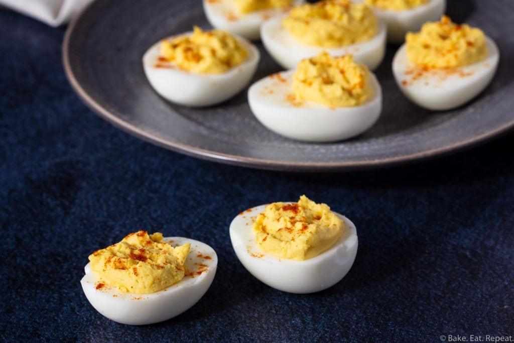 classic devilled eggs