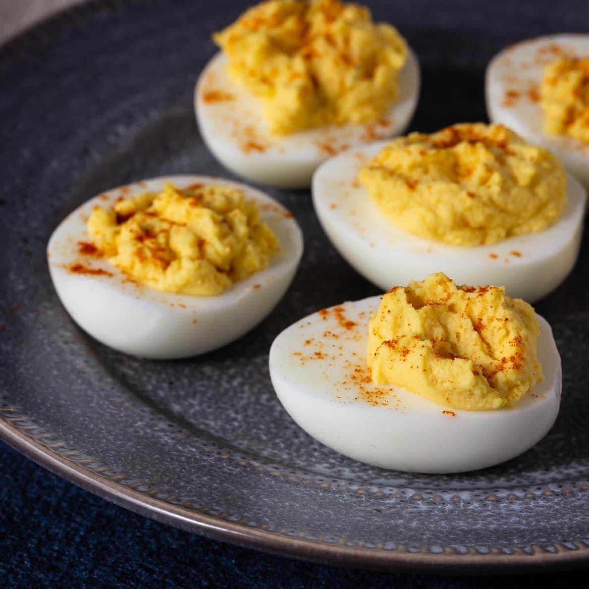 Devilled Eggs - Bake. Eat. Repeat.
