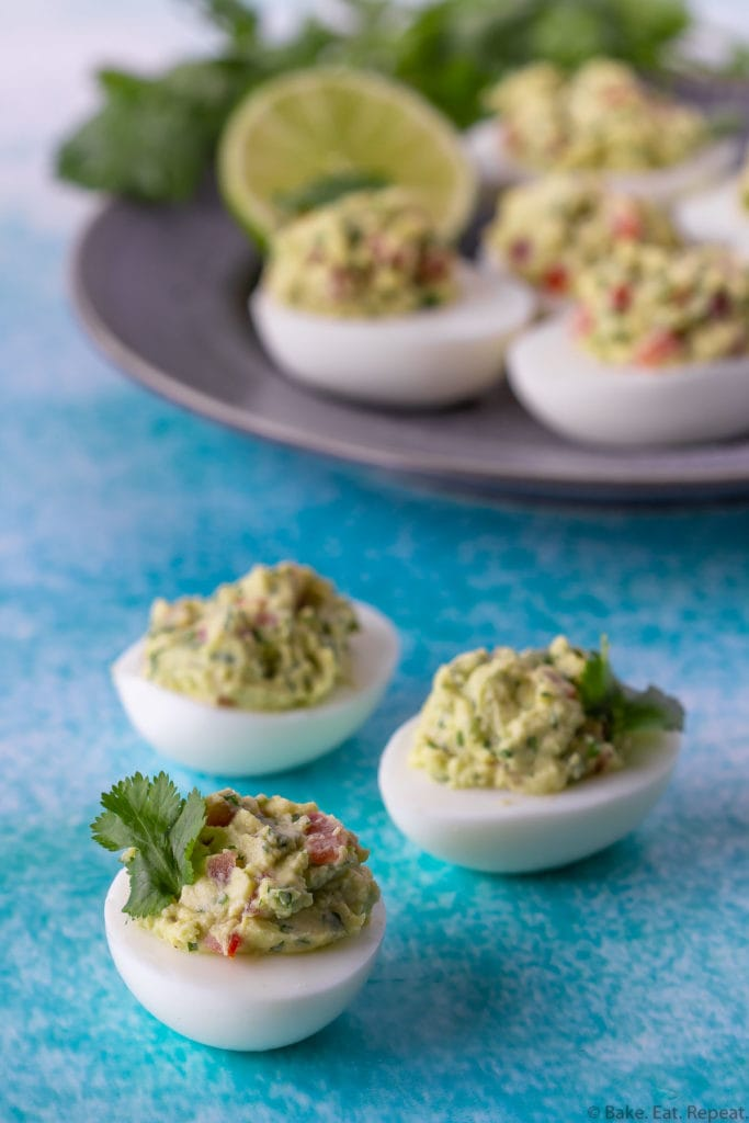 guacamole devilled eggs