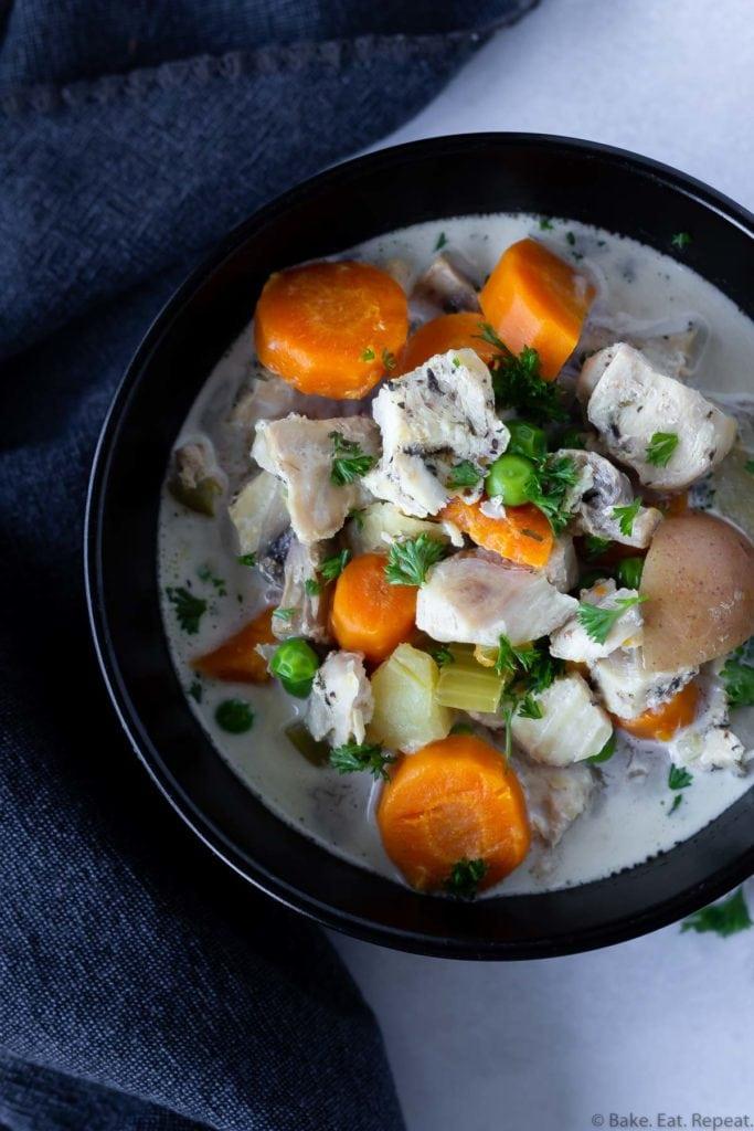 Healthy Instant Pot chicken stew