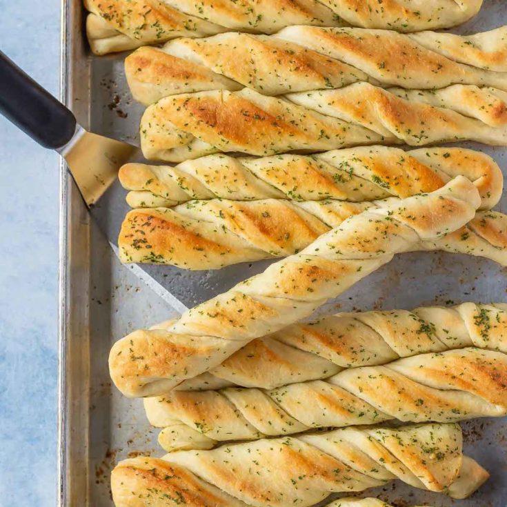 easy homemade breadsticks