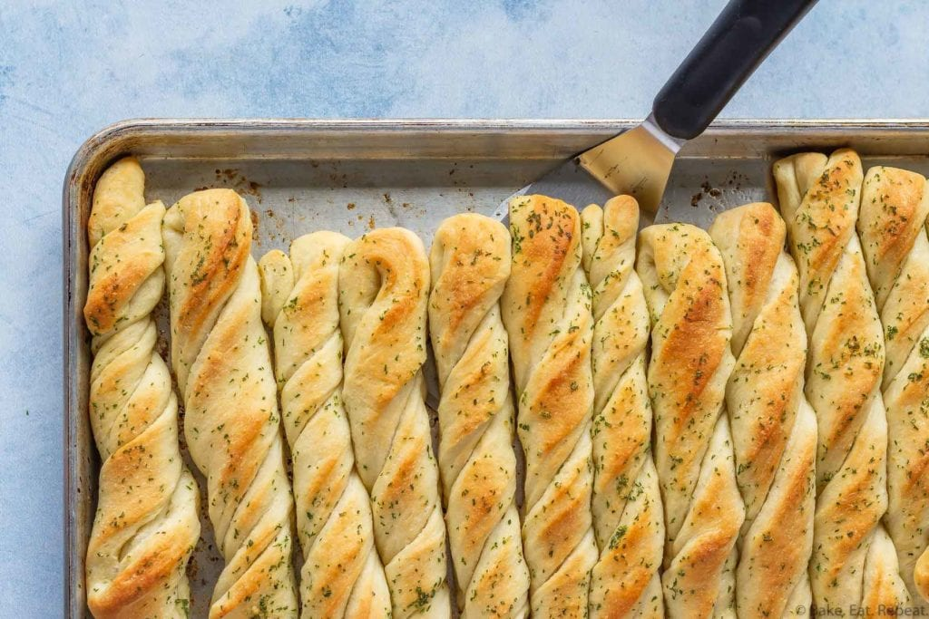 easy one hour breadsticks