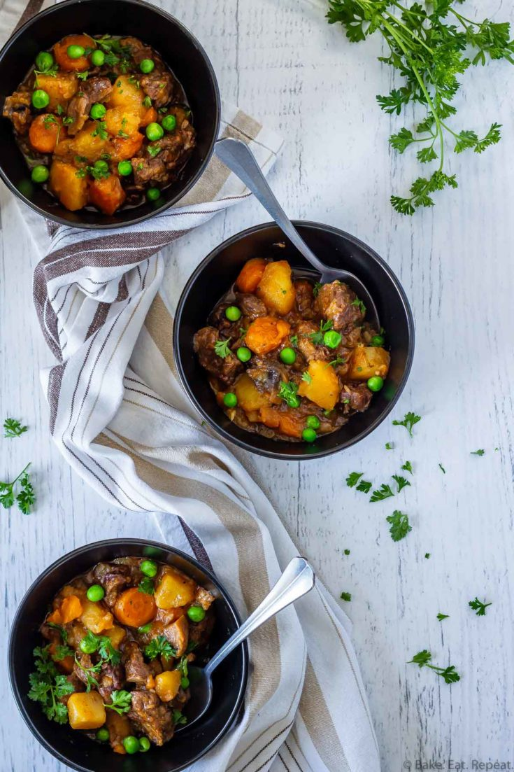 Instant Pot Beef Stew Bake Eat Repeat