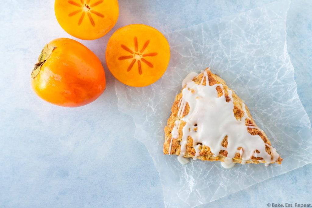 persiMon ginger scones