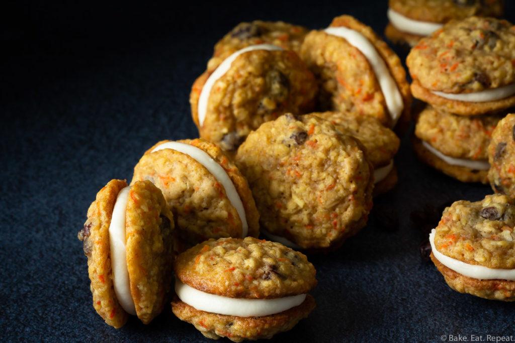 carrot sandwich cookies