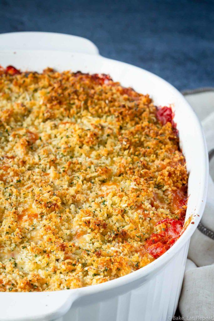 easy to make chicken parmesan casserole