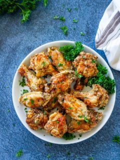 air fryer salt and pepper wings
