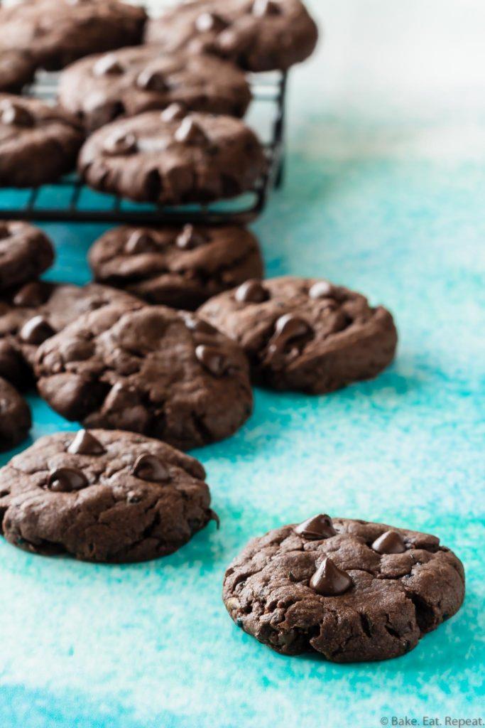 zucchini chocolate cookies